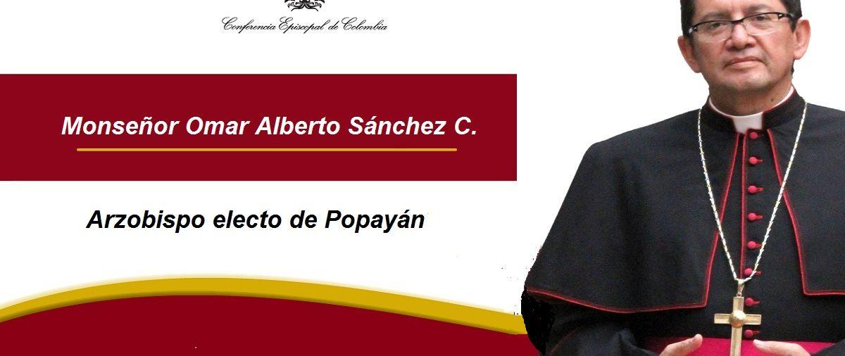 Nuevo Arzobispo para Popayán