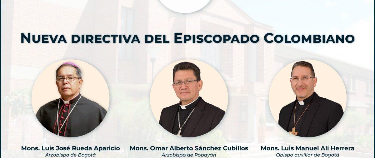 Nueva directiva de la Conferencia Episcopal de Colombia